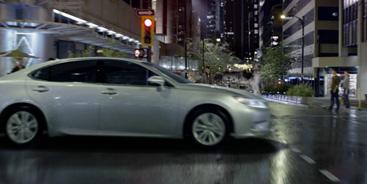 Alumni Work on Lexus TV Ad
