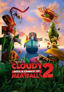 Cloudy with a Chance of Meatballs 2 features the work of alumni Joyce Le Tong.