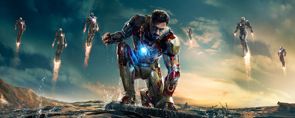 Alumni Work on Iron Man 3