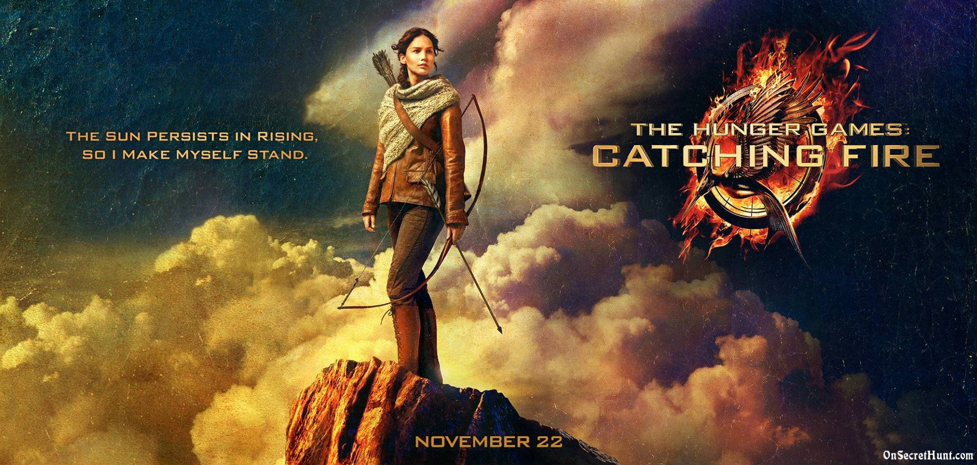 Alumni work on Catching Fire