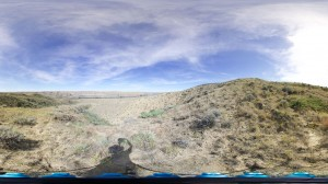 360° Spherical panorama shot in Montana by Drexel Paleontology student Emma Fowler.