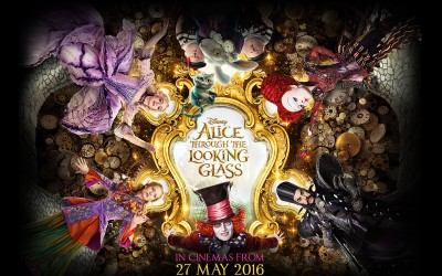 Alumni Work on Alice Through The Looking Glass