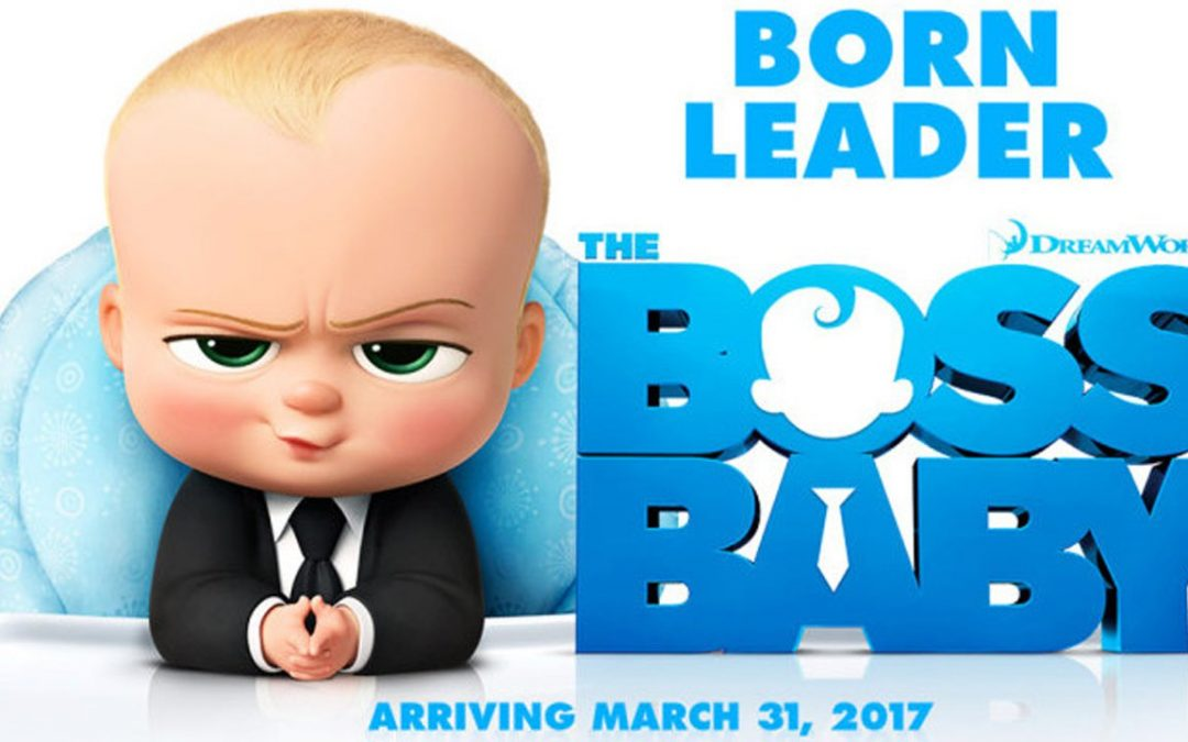 Alumni work on The Boss Baby