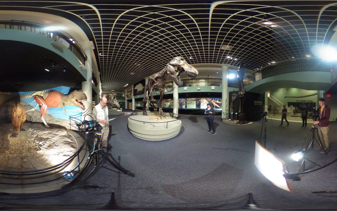 ACELab360 Episode 3 – Dinosaur 360° Production w/ Val & Ethan