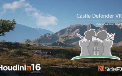 Houdini Castle Defender VR