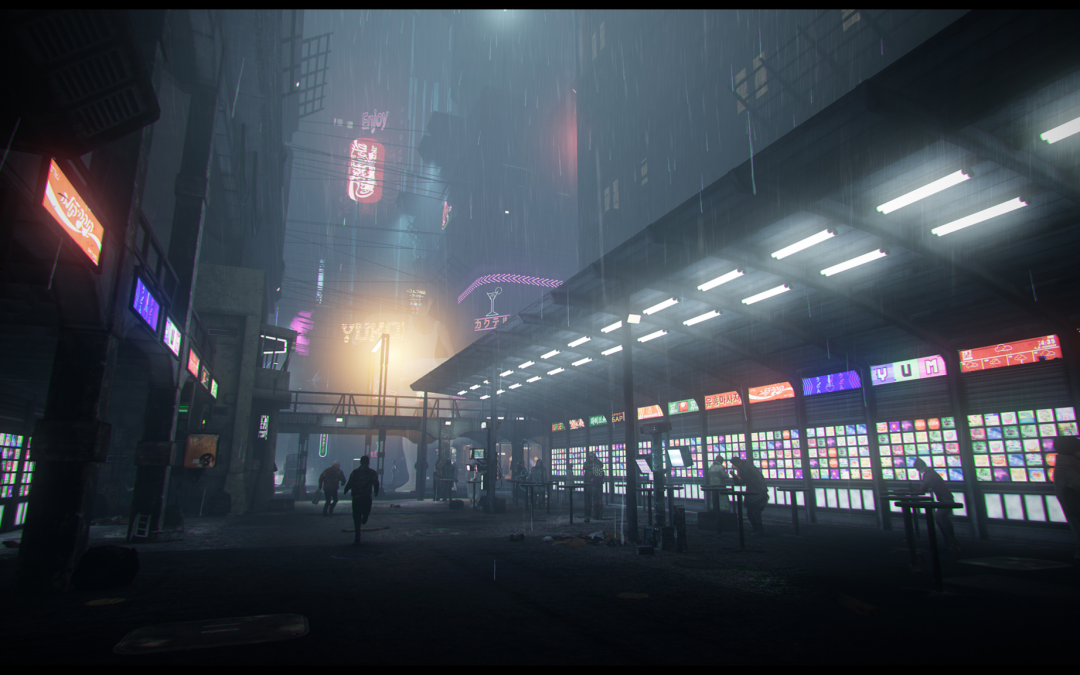 Alumni Work on Blade Runner 2049: Memory Lab VR