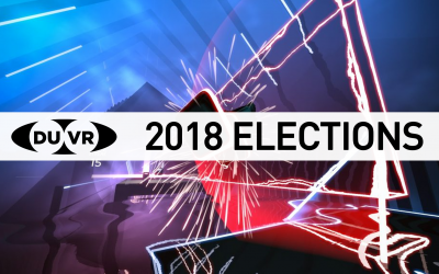 DUVR Elections & Beat Saber