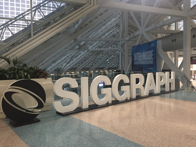SIGGRAPH 2017 as a Student Volunteer
