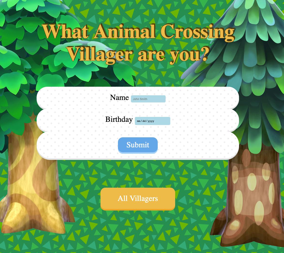 Animal Crossings Zodiac