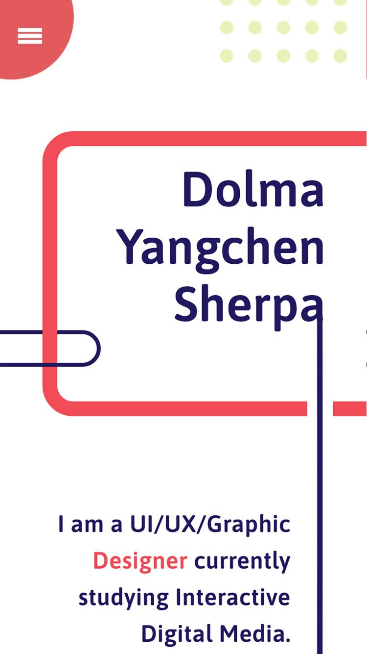 Portfolio Site: Dolma Sherpa