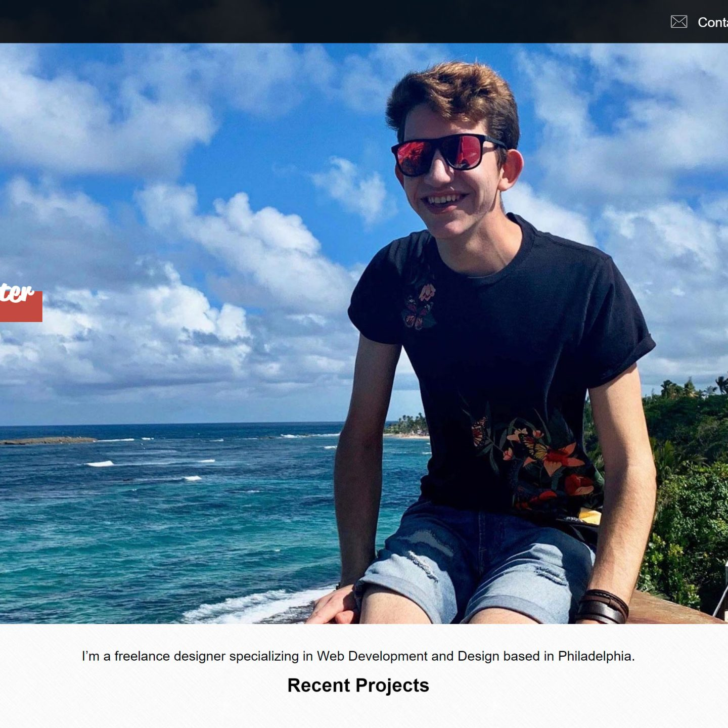 Responsive Portfolio: Hunter Hampton